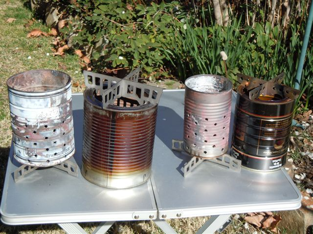 Paint Can Wood Gasifier : Wood-gas stoves disassembled